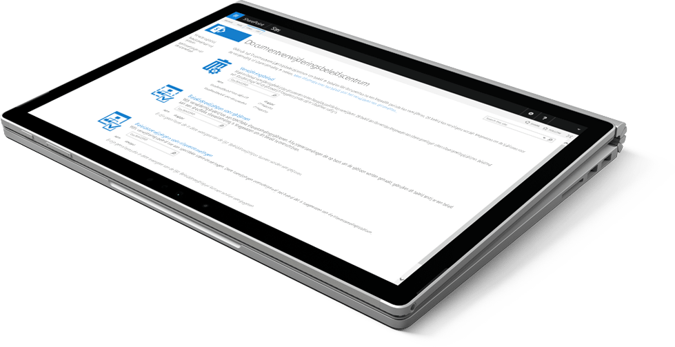 SharePoint tablet